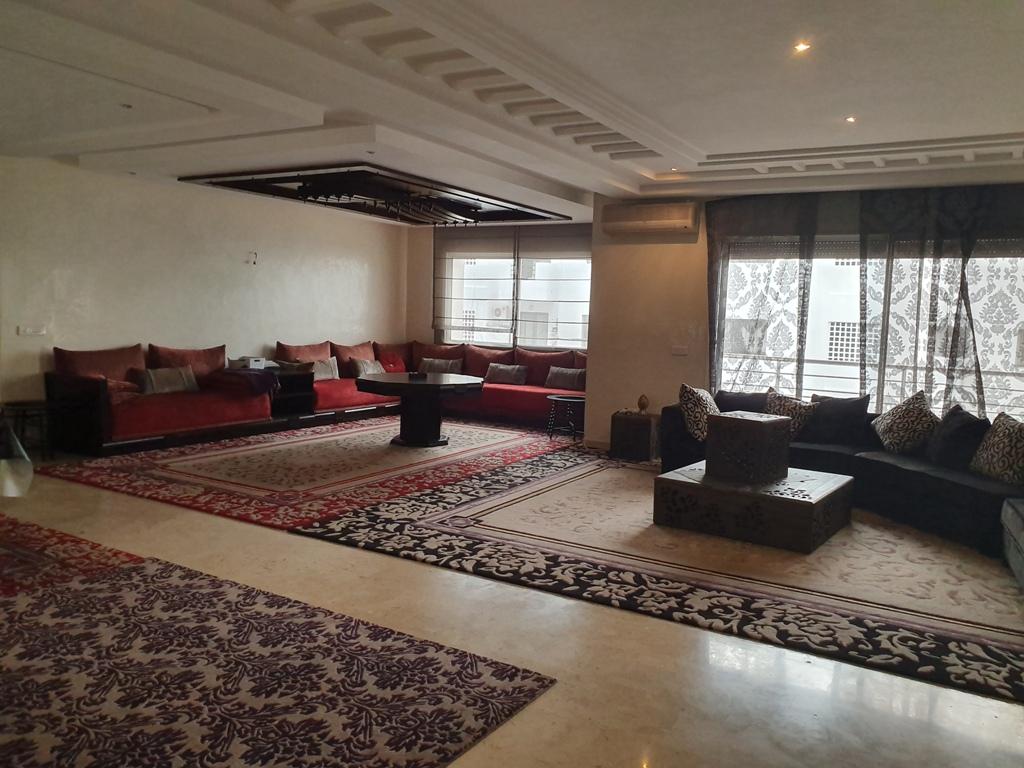 Appartement meublé en location à hay riad